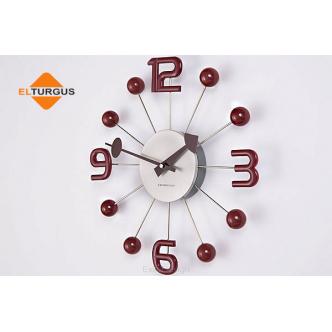 Sieninis laikrodis ExitoDesign HS-033WT