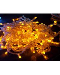 LED lauko girliandos (Šiltai balta)