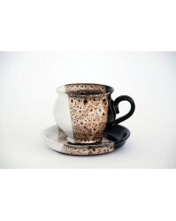 "Puodelis su lėkštute ""Latte"" (P1-5, L1-5)"
