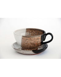 """Puodelis sultiniui su lėkštute """"Latte"""" (P3-5, L1-5)"""