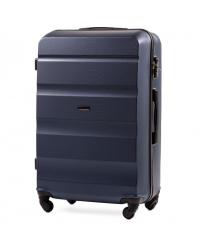 Vidutinis lagaminas Wings AT01 mėlynas