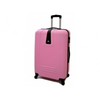 Vidutinis lagaminas Gravitt 602 rožinis