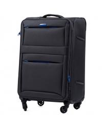 Rankinio bagažo lagaminas Wings 2861 tamsiai pilkas