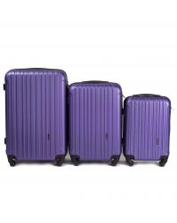 Lagaminų komplektas Wings 2011 violetinis