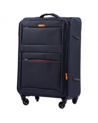 Vidutinis lagaminas Wings 2861 tamsiai mėlynas