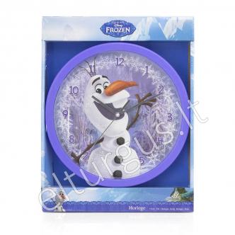 """Vaikiškas sieninis laikrodis Olaf """"Frozen"""" (Ledo šalis)"""
