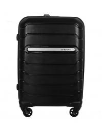 Rankinio bagažo lagaminas Burak 738 juodas (100% polipropilenas)