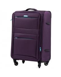 Didelis lagaminas Wings 2861 tamsiai violetinis