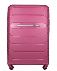 Vidutinis lagaminas Burak 738 rožinis (100% polipropilenas)