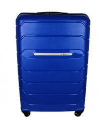 Vidutinis lagaminas Burak 738 mėlynas (100% polipropilenas)