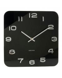 Sieninis laikrodis Karlsson Vintage kvadratinis
