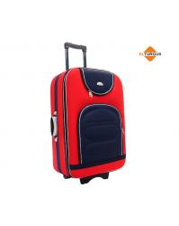 Didelis lagaminas Suitcase 801 raudonas/mėlynas