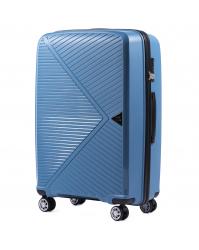 Vidutinis lagaminas Wings Mallard mėlynas (100% polipropilenas)