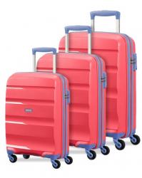 Lagaminų komplektas American Tourister BonAir 2547 rožinis