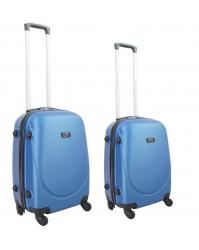 Rankinio bagažo lagaminų komplektas Gravitt 310 (2vnt. S+XS) mėlynas