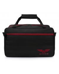 Kelioninis krepšys Wings T01 juodas (30x40x20cm)