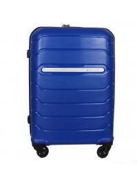 Rankinio bagažo lagaminas Burak 738 mėlynas (100% polipropilenas)