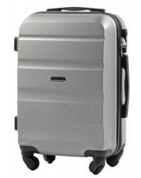 Rankinio bagažo lagaminas Wings AT01 sidabrinis