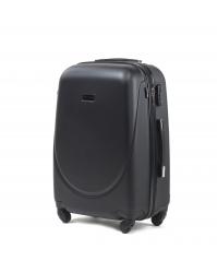 Vidutinis lagaminas Wings 310 juodas
