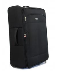 Vidutinis lagaminas Worldline 523 juodas