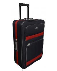 Vidutinis lagaminas Deli 901-V Raudona/juoda
