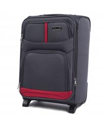Rankinio bagažo lagaminas Wings 206 pilkas