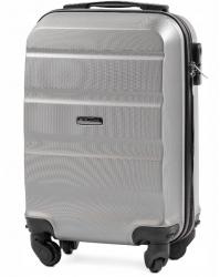 Vaikiškas lagaminas Wings AT01 XS (51 x 35 x 20) sidabrinis
