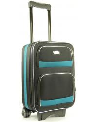 Rankinio bagažo lagaminas Deli 901-M Juoda/žalia