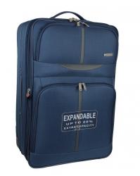 Vidutinis lagaminas WorldLine 521 mėlynas