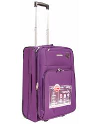 Vidutinis lagaminas Airtex 6115 violetinis