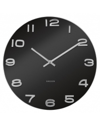Sieninis laikrodis Karlsson Vintage apvalus