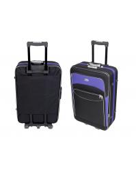 Vidutinis lagaminas Deli 101 Juoda/violetinė