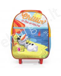 Vaikiškas lagaminas, kuprinė Olaf