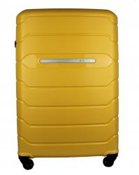 Didelis lagaminas Burak 738 geltonas (100% polipropilenas)