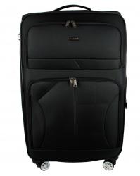 Vidutinis lagaminas Gravitt 618 juodas