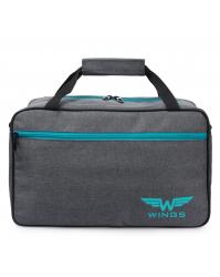 Kelioninis krepšys Wings T01 pilkas (30x40x20cm)