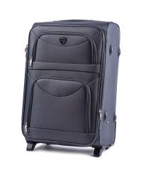 Rankinio bagažo lagaminas Wings 6802 pilkas
