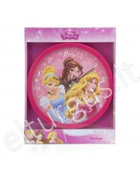 """Vaikiškas sieninis laikrodis """"Disney Princess"""""""