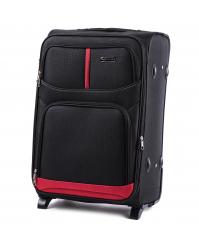 Vidutinis lagaminas Wings 206 juodas
