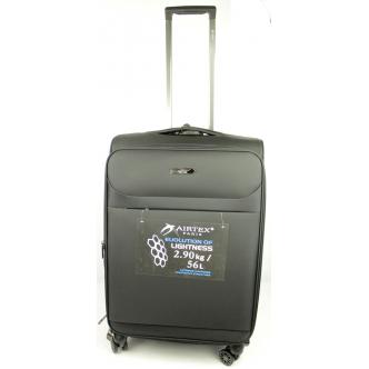 Vidutinis lagaminas Airtex 822 juodas