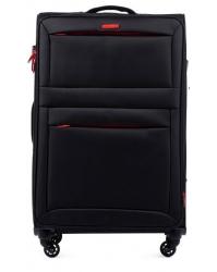Vidutinis lagaminas Wings 2861 juodas