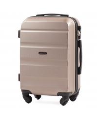 Rankinio bagažo lagaminas Wings AT01 šampaninis