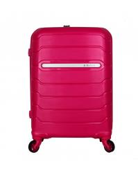 Rankinio bagažo lagaminas Burak 738 tamsiai rožinis (100% polipropilenas)