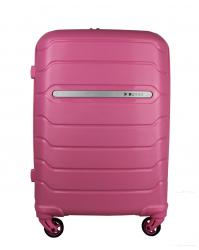Rankinio bagažo lagaminas Burak 738 rožinis (100% polipropilenas)