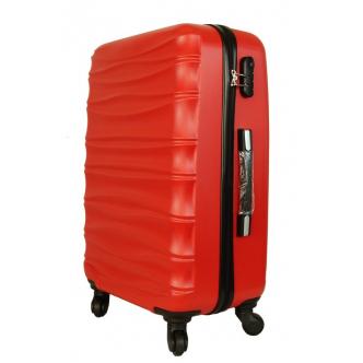 Vidutinis lagaminas Gravitt 117 raudonas