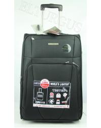 Vidutinis lagaminas Airtex 6115 juodas