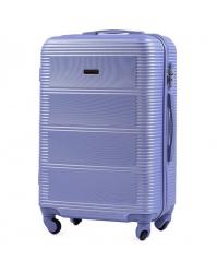 Vidutinis lagaminas Wings 203 šviesiai violetinis